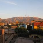 Enjoy the sunset over Nazca