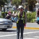 Traffic policewomen