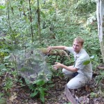 Mr Spiderman - Thorsten and a giant spider web