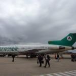 Ein nicht mehr ganz so neues Flugzeug hat uns nach Sucre gebracht...vom Anflug auf den Flughafen spreche ich mal lieber nicht ;-)