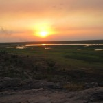 Kakadu National Park at twilight