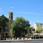 Search for a place to relax, led us to some impressive buildings of the Adelaide University...