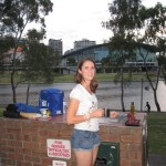 """Once again time for some traditional Aussie outdoor """"sports""""...BBQ!"""