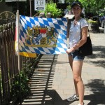 At least they had something to make the Bavarian of us happy ;-)