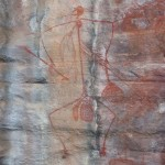 Ubir is one of the few sites worldwide, where you can actually access rock paintings close up
