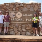 The entry point to Kakadu National Park