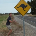 """First """"signs"""" of typical Australian wildlife...somehow make tourists behave """"strange"""" ;-)"""