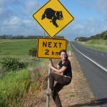 """More """"signs"""" of typical Australian wildlife...that again caused tourists to behave """"strange"""" - still don't wanna know what all the local driver think about tourists stopping at these signs ;-)"""