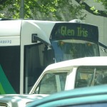 Bus going to Glen Iris, a part of Melbourne