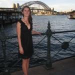 Iris and the Harbour Bridge