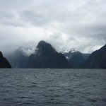 On the way from Sandfly Point to Milford Sound