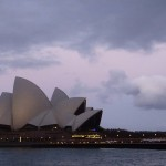 ...might take some pictures of the Sydney Opera at dusk...