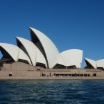 Picture postcard snapshot of the Sydney Opera
