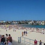 Famous Bondi beach