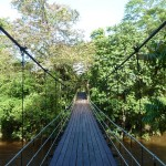 Bridge as the entry point into the National Park