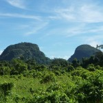 Mountains around Mulu National Park...