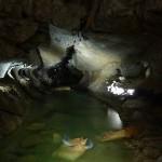 Underground river...