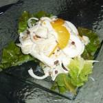 Palm heart salad - my favourite