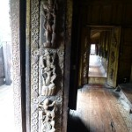 Shwedandaw Monastry - wood carvings
