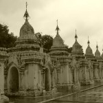 "Kuthodaw Pagoda - each one for one ""page"" of the tipika"