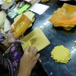 Gold leaf production