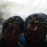 Getting wet at Seljalandsfoss