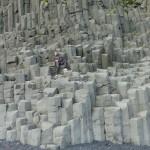 Basalt stones near Vik