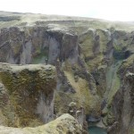 Fjadrargljufur canyon - yes, it is that big