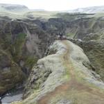Fjadrargljufur canyon - dead end