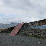 What happens to bridges upon a glacier melted by an errupting volcanoe?
