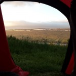 And it is of course again, camping with a view