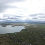 Myvatn lake from atop Vindbelgjafell