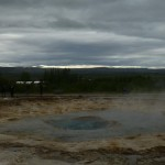 But neighbouring Strokkur...