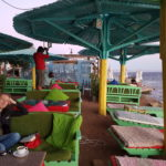 Dahab has some very relaxed local cafes to hang-out